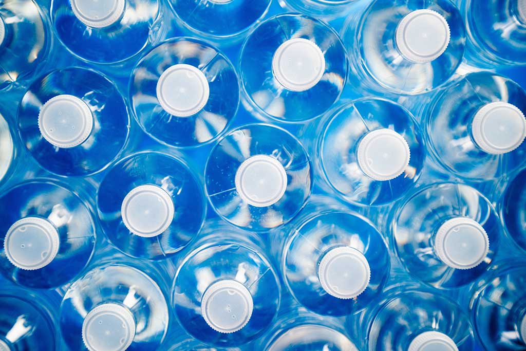 Holdingimage Recycling Plastic Bottles
